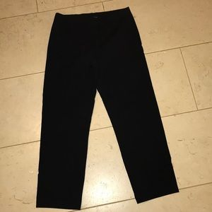 Eileen Fisher XS ponte ankle pants